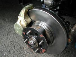 Brake Assembly Of A Car