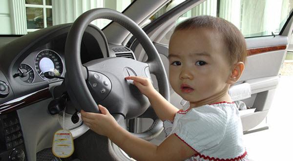 Baby Inside Car